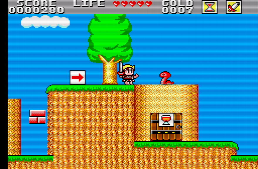 Wonder Boy 2 - Wonderboy in Monsterland