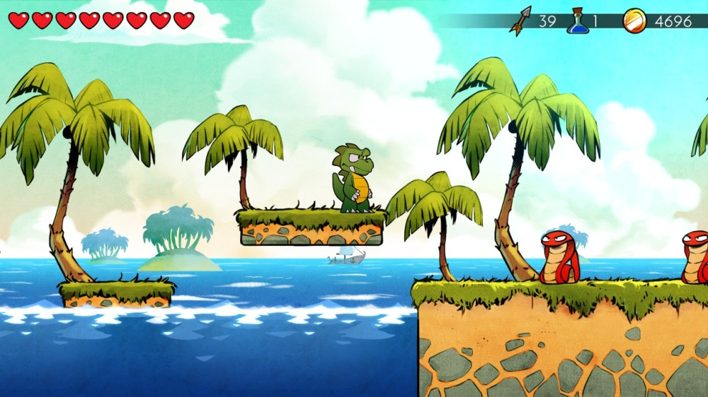 Wonder Boy The Dragon's Trap 1
