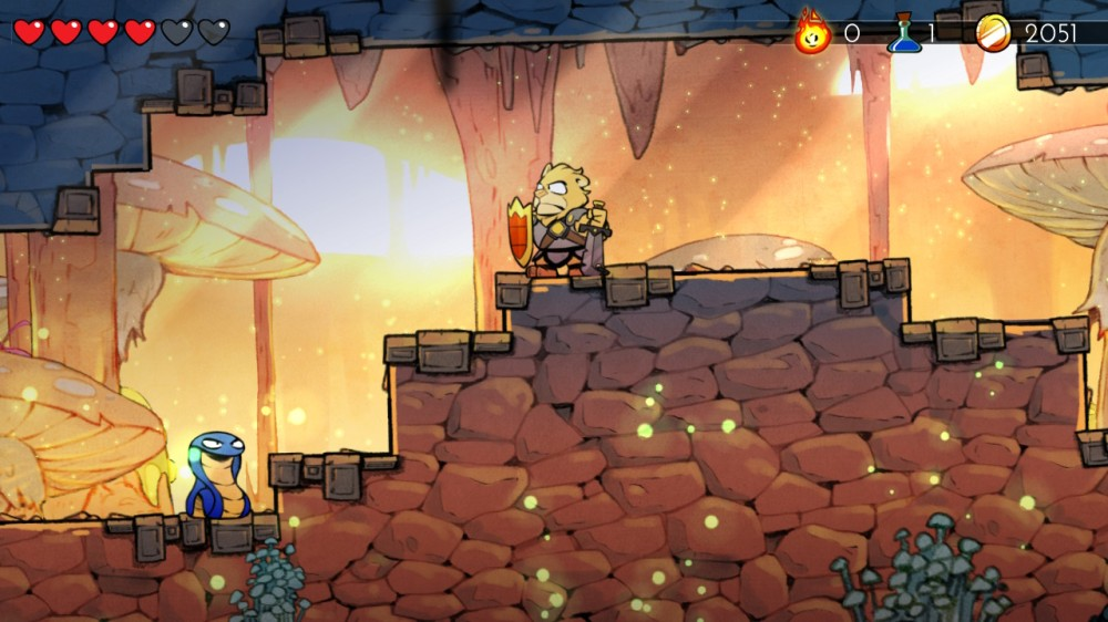 Wonder Boy The Dragon's Trap 3