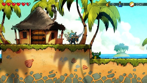 Wonder Boy The Dragon's Trap 33
