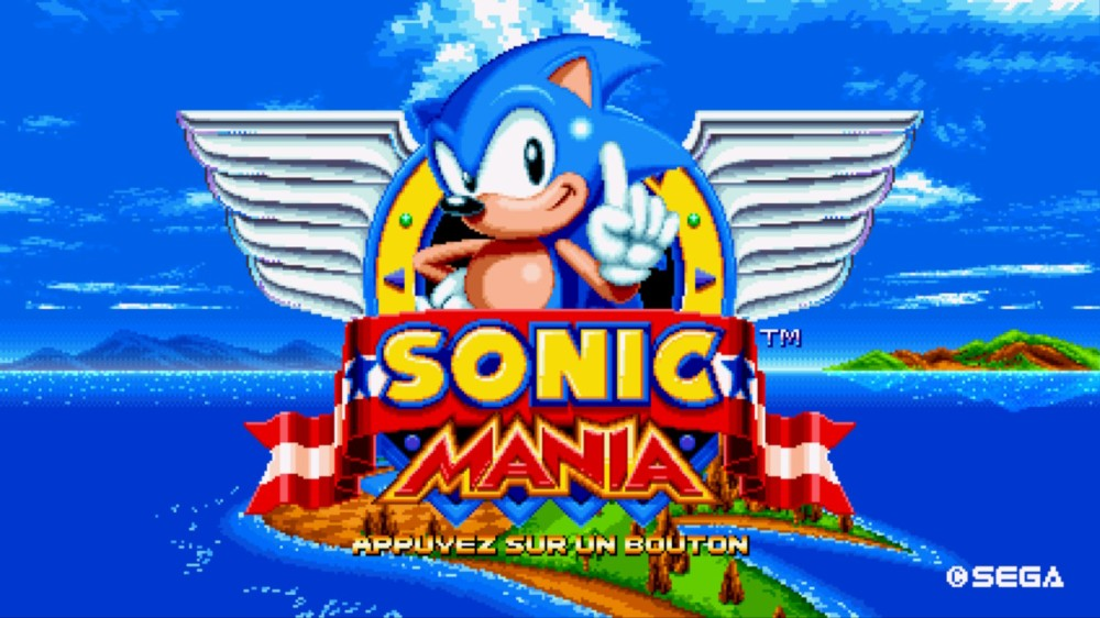 Sonic Mania 1
