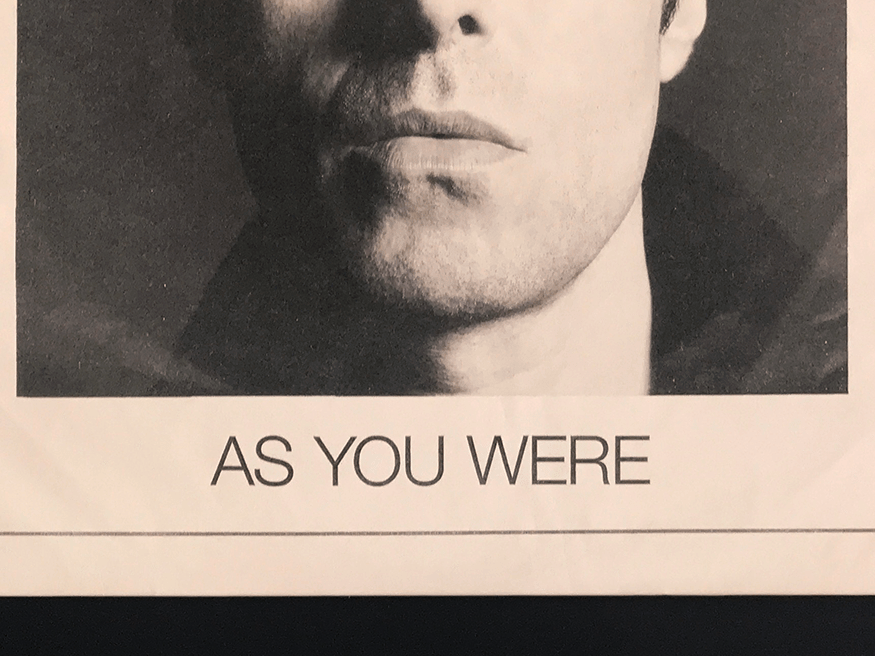 AS YOU WERE 1