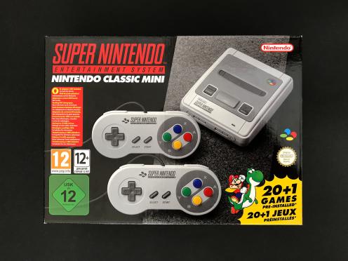 SNES Classic Mini 1